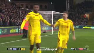 Video Gol Pertandingan Crystal Palace vs Liverpool