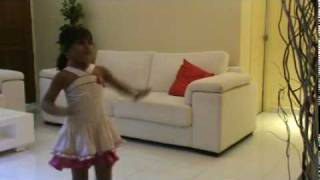 Saanvi Tondak Dance on left leg aage aage.mp4