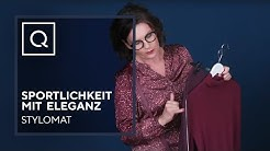 So kombinierst du Sportlichkeit mit Eleganz!   Stylomat Astrid Rudolph   Fashion Newsroom   QVC