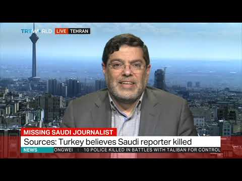Jamal Khashoggi Missing: Interview Mohammed Marandi