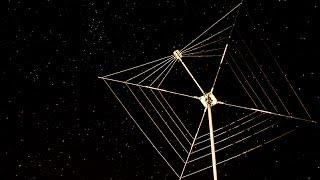 Cobweb antenna on the analyzer