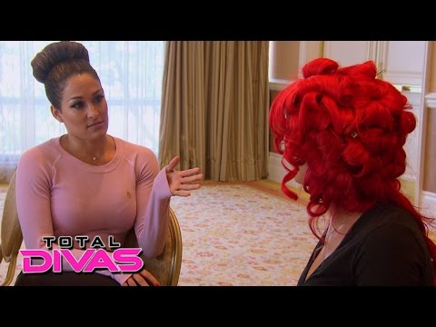 Nikki Bella and Eva Marie discuss the Divas' drama: Total Divas P : July 21, 2015