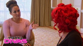 Nikki Bella and Eva Marie discuss the Divas' drama: Total Divas Preview Clip: July 21, 2015