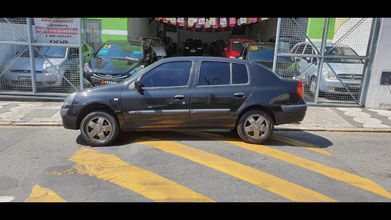RENAULT/CLIO SEDAN 1.6 COMPLETO 2004 TEM SCORE BAIXO LIGA AGORA!!!