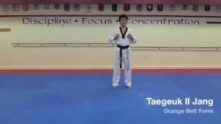Taegeuk Il Jang - Orange Belt Form