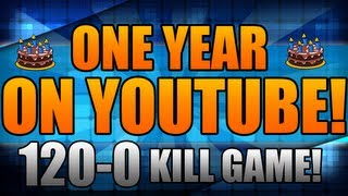 One Year On Youtube! - 120-0 Kill Flawless Domination thumbnail
