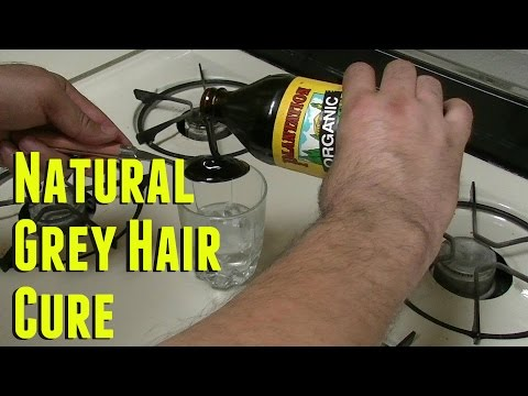 DIY : How to Get Rid of Grey Hair Naturally Gray Hair Cure for men and women