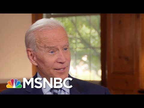 Joe Biden: President Donald Trump Handling Of Border An Attempt To Scare | Morning Joe | MSNBC