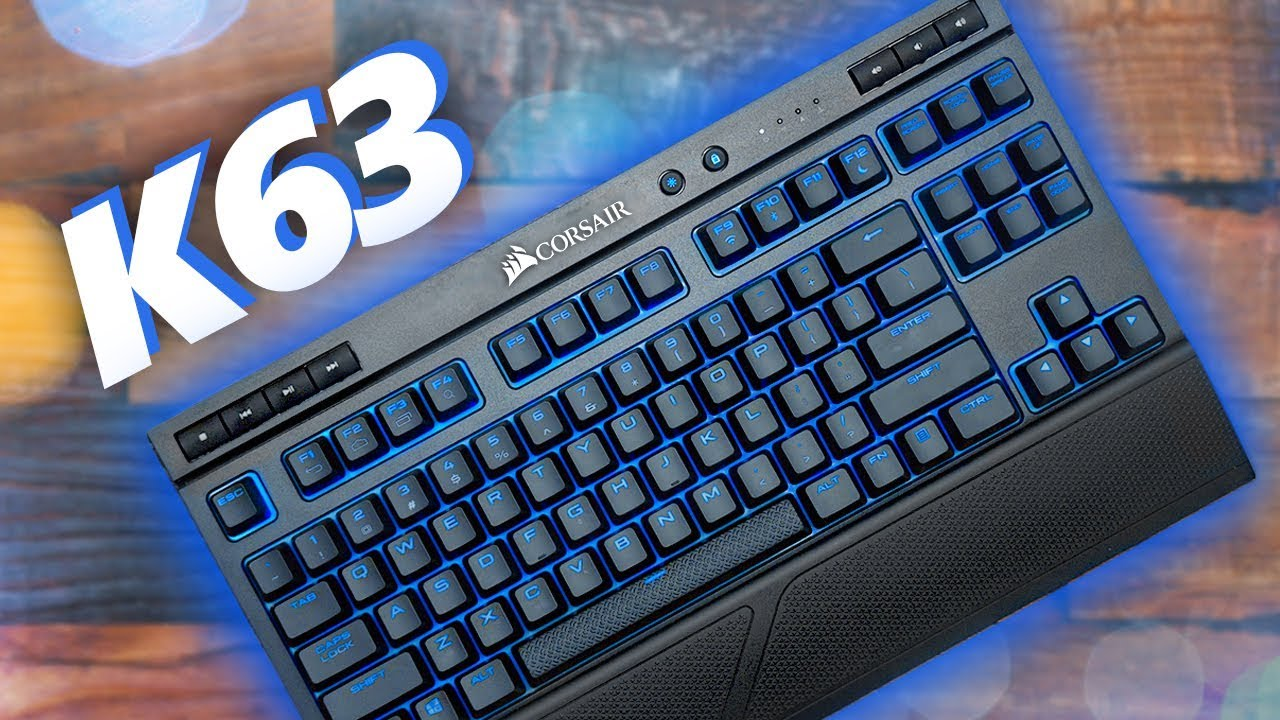 47c626d26ee Cut the Cord - Corsair K63 Wireless Keyboard Review! - YouTube