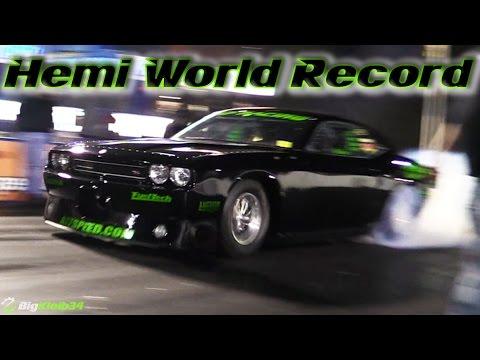 ProCharged Hemi Challenger Blasts 200+MPH Quarter Mile - World ...