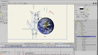 Аnime Studio Pro (Moho Pro): Как разместить в слое объект и сделать его независимым от костей