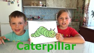 Learn the colors and names of animals. Funny educational video for children