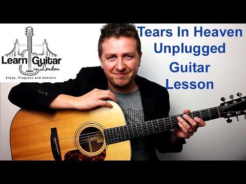 Eric Clapton - Tears In Heaven (Unplugged) - Acoustic Guitar Tutorial  - Drue James - Part 1