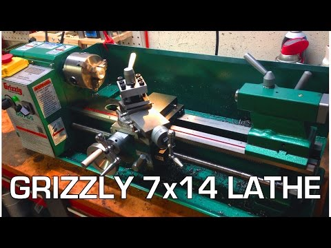 Grizzly 7×14 G0765 Lathe Overview