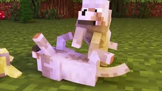 TEMPLE RUN vs CLASH ROYALE   Minecraft animation ( corre o te violan )