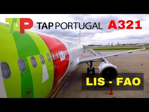 FLIGHT REPORT | TAP AIRBUS A321 | LISBON - FARO