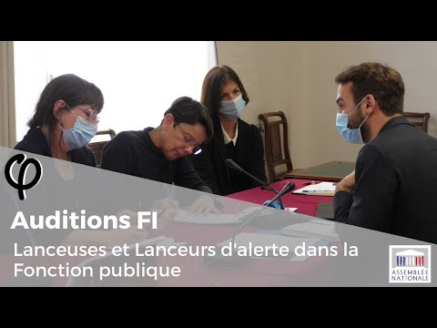 Audition φ - Lanceurs d'Alerte dans la Fonction publique - 14 octobre 2020