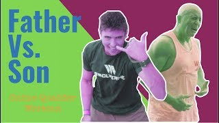 FATHER VS. SON - CrossFit Games Online Qualifier Workout