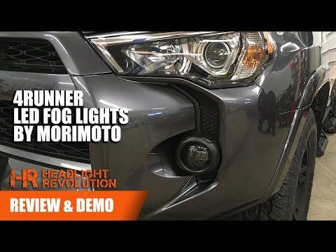 Morimoto XB LED Fog Light Toyota 4Runner Review and Demo  | Headlight Revolution