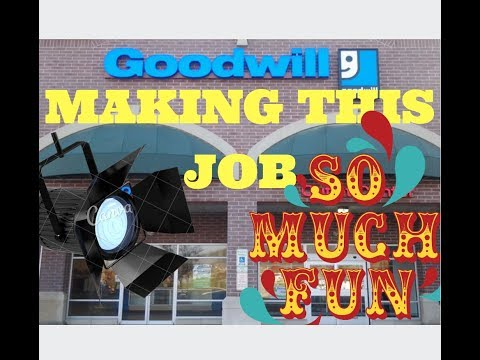 Trip To Goodwill * THIS JOB IS SO MUCH FUN I LOVE IT * #109