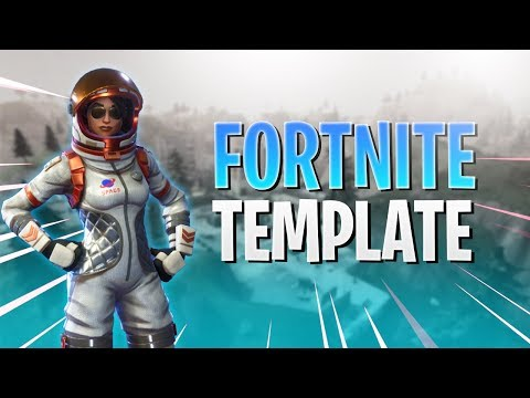 Free Fortnite Battle Royale Thumbnail Template 2 Photoshop Cc