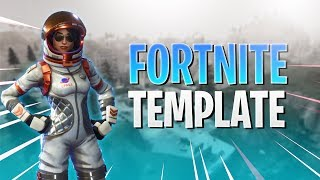 FREE Fortnite Battle Royale Thumbnail Template #2 | Photoshop CC 2017 #Free
