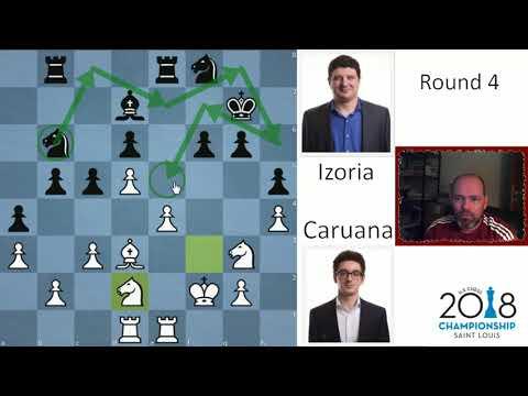 Shocking loss for Fabiano | Caruana - Izoria | US Chess Champs