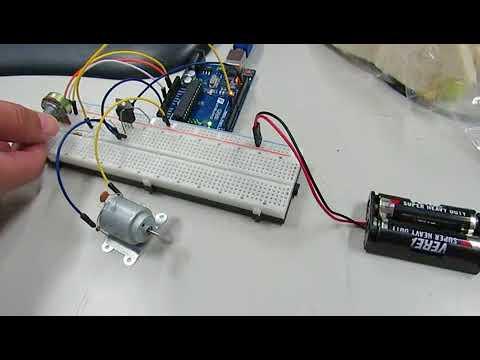 Arduino-直流馬達速度控制