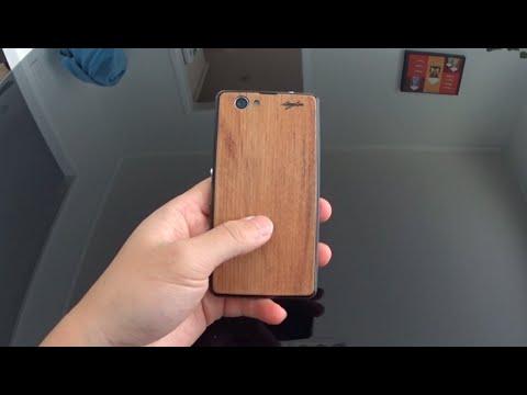 Laser Cut Phone Back Cover Out of Scrap Wood Veneer
