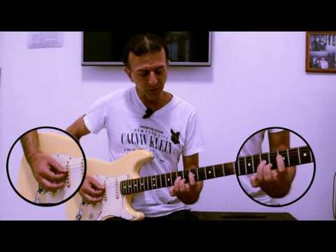 Escala Pentatonica - Wilson Cruz (Aula de guitarra)