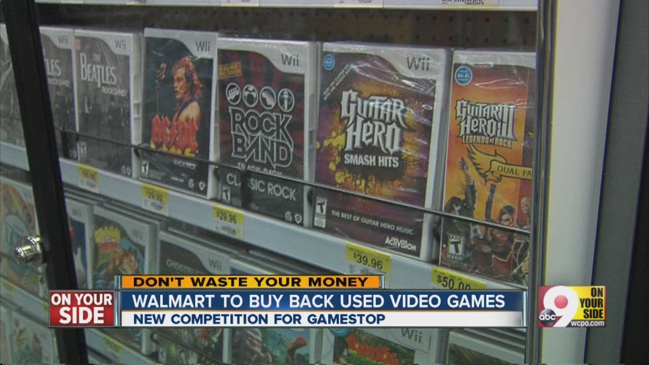 Walmart To Buy Back Used Video Games Youtube