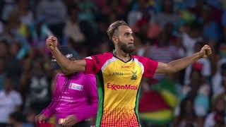 CPL18 Match Highlights M22 Barbados Tridents v Guyana Amazon Warriors
