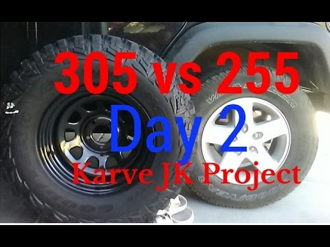 305 vs 255 Tire Size Comparison