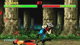 Mortal Kombat II (Arcade) Kung Lao (60FPS)