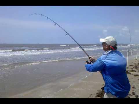 Crystal Beach Surf Fishing -