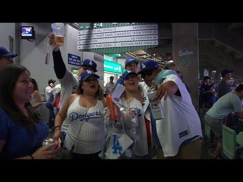 Dodger Fans Still Optimistic After Game 2 Loss