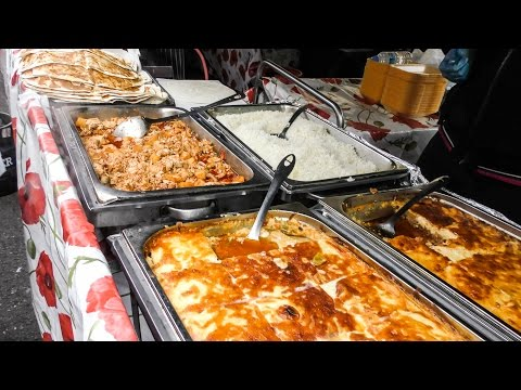 The Lahmacun from Turkey and Armenia Tried in London. World Street Food