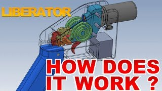 Liberator 3D printed gun - How it works