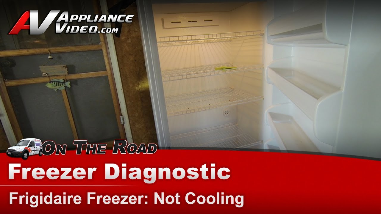 Frigidaire Electrolux Freezer Diagnostic - Thawing food & Not Cooling -  LFFU2065DW4