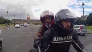 Lonely Peleg- Paris on a Motorbike /  לונלי פלג- פריז על אופנוע