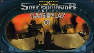 Command & Conquer Sole Survivor Gameplay - Minigunner