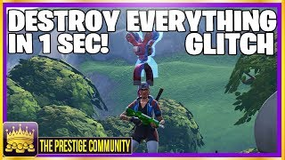 NEW Fortnite Season 7 Glitch! 🤯 ***DESTROY ANYTHING YOU TOUCH*** (Ps4, Xbox One, PC)
