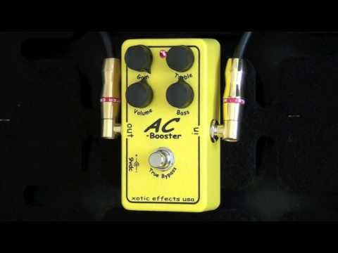 Xotic Effects AC Booster Review - BestGuitarEffects.com