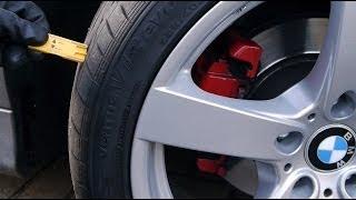 Profiltiefe am Reifen richtig Messen 3 Möglichkeiten Anleitung