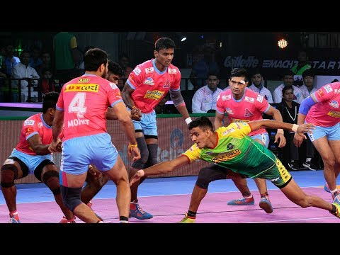 Pro Kabaddi 2018 Highlights | Patna Pirates Vs Jaipur Pink Panthers | Hindi
