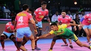Pro Kabaddi 2018 Highlights   Patna Pirates Vs Jaipur Pink Panthers   Hindi