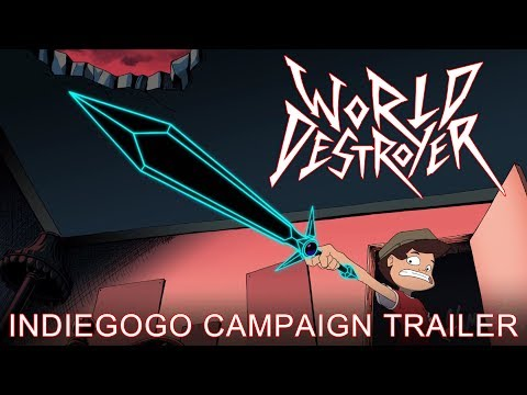 World Destroyer [2017 Animated Movie Trailer HD]