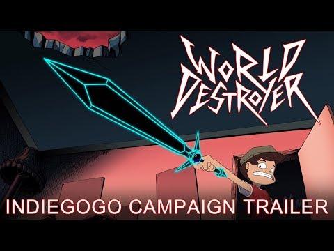 World Destroyer [2017 Animated Movie Trailer HD]