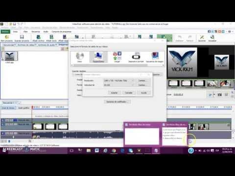 Convertir Archivo .vpj a Archivo .avi para Subir a Youtube