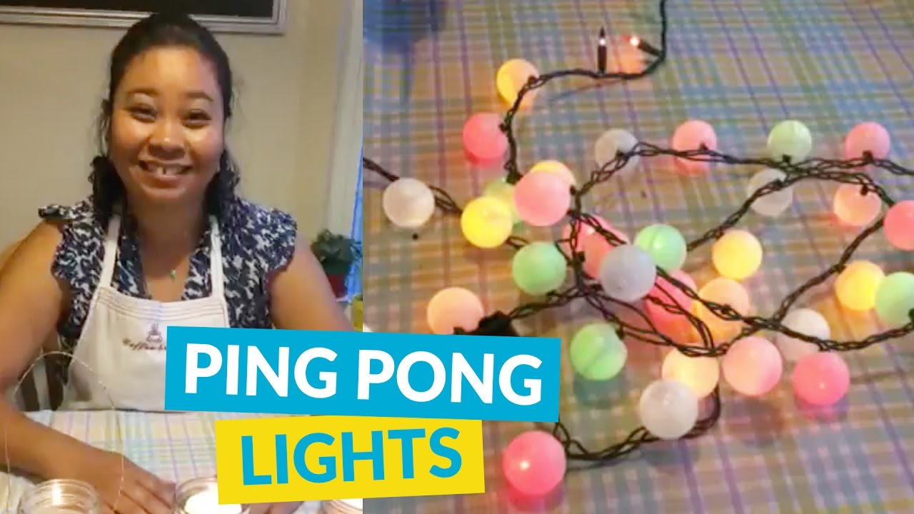 DIY Ping Pong Table Tennis Game for One Person - video ...